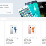 Promotion sur les smartphone iPhone 6S, 6S Plus, Samsung S7, S6 , LG, HTC, Sony, Huawei…
