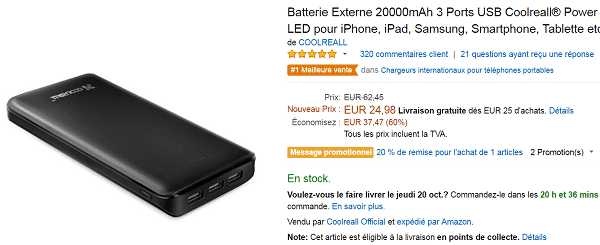 batterie-coolreal-pas-cher