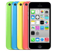 Iphone 5C 8Go reconditionné (garantie 1 an) à 99 €