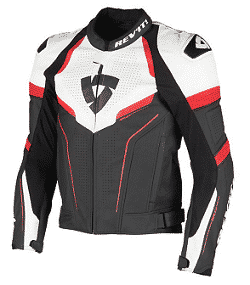 Blouson motard en cuir Rev IT Replica à 299 € au lieu de 529 € (-44%)