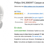 Casque audio Philips SHL3060 en promotion sur Amazon