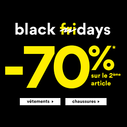 Black Friday La Halle : 70% de réduction sur le 2ème article