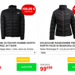 Doudoune PAZ The North Face en promotion à 99 € au lieu de 199 € chez Go Sport (-50%)