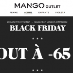 Black Friday Mango Outlet : tout à -65%