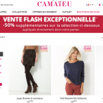 Vente Flash Camaïeu : 50% de réduction sur plus de 1 200 articles