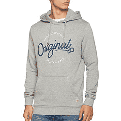 Sweat à capuche Jack & Jones à 8,98 € sur Amazon