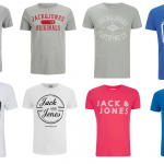T-Shirt Jack & Jones à 7,15 € ou les 2 à 12 €