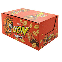 24 barres de Lion Peanuts à 6,22 € sur Amazon