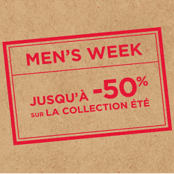 Men's Week Celio : jusqu'à 50% de réduction sur la collection printemps-été