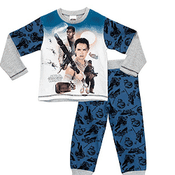 Pyjama enfant Star War à 6,95 € au lieu de 16,95 € sur Amazon (-58%)