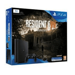 PS4 Slim 1 To + Resident Evil 7 + GTA V à 299,99 €