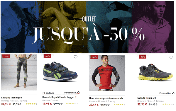Reebok code promo outlet