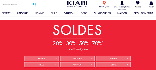 Coupons kiabi