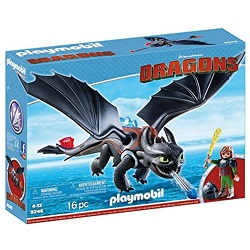 Playmobil Dragons en promotion sur Amazon