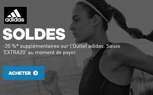 Soldes hiver 2018 Adidas