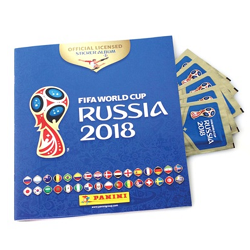 Groupon : 250 stickers Panini Collection Officielle FIFA Coupe du Monde Russie 2018 à 29,95 €