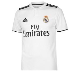 SportsDirect : Maillots de foot pas cher (Real Madrid, Juventus, FC Barcelone)