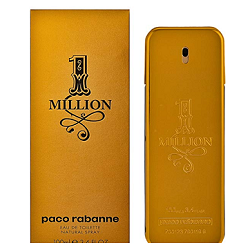 Parfum One Million 100 ml en promotion à 45,40 € sur Amazon (via code promo)