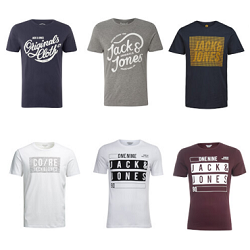 3 t-shirts Jack & Jones à 22 € sur Zavvi