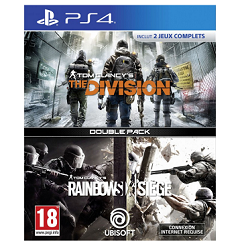 Pack 2 jeux PS4 Rainbow Six Siege + The Division à 19,90 € chez Micromania