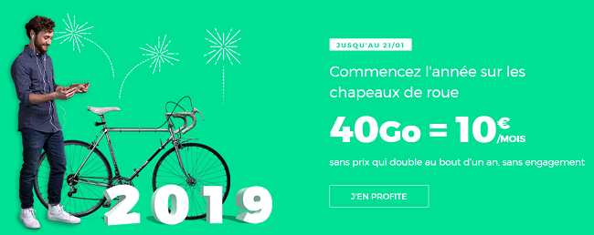 Promo forfait télephonique Red by SFR