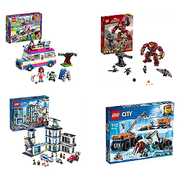 Boîtes de Lego en promotion flash sur Amazon