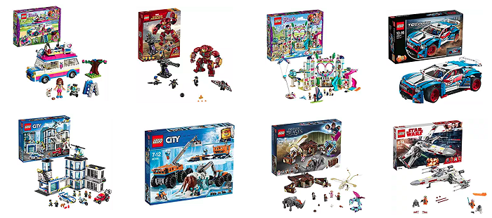 Lego en promotion sur Amazon