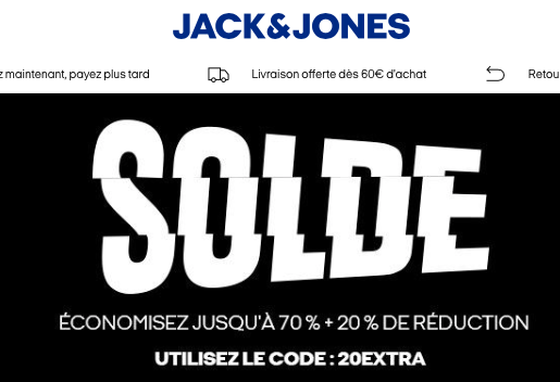 Soldes Jack and Jones