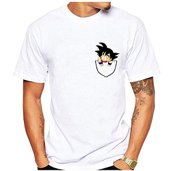 t-shirt dragon ball Z Sangoku à petit prix