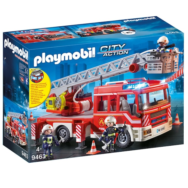 Camion Pompier Playmobil en promotion Black Friday