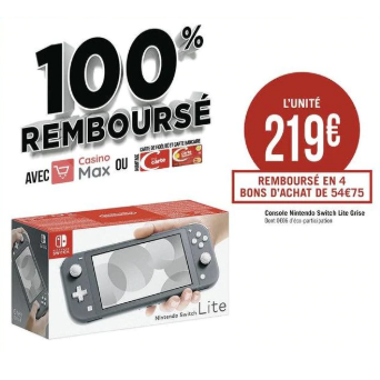 Les bons plans promotions du mercredi 6 novembre 2019 (Camaïeu, Poupée LOL, Nintendo Switch)