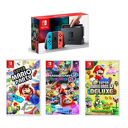 Pack Nintendo Switch mega promo black friday