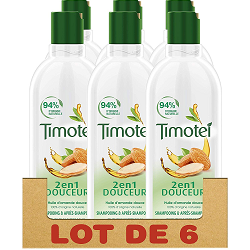 Pack shampoing Timotei en promotion