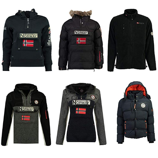 parka et manteau Geographical Norway en promotion