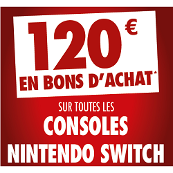 Carrefour offre Nintendo Switch