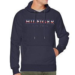 Sweat Capuche Tommy en promo