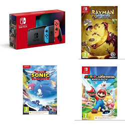 black friday Pack Nintendo Switch + 3 jeux en promo